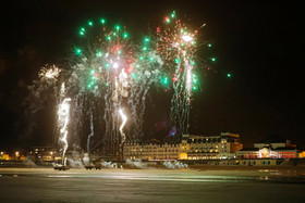 Feu d'artifice Cabourg