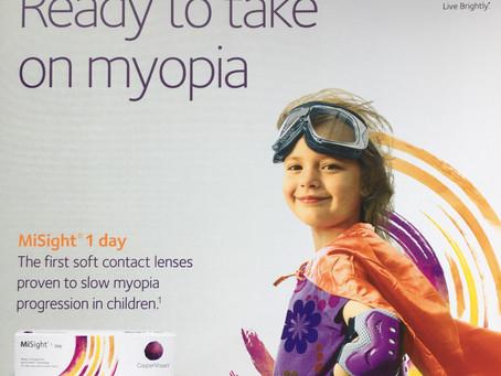 MiSight Contact Lenses battling the Myopia Pandemic