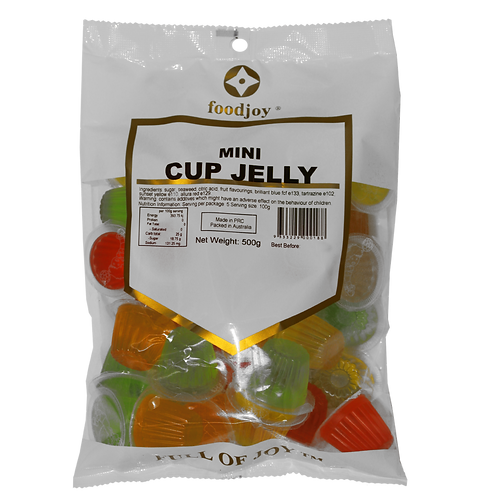 Jelly Cups Mini 500g