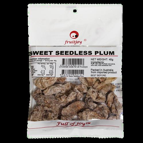 Seedless Sweet Plum 40g