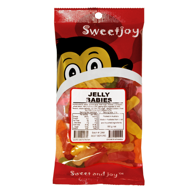 Jelly Babies 180g