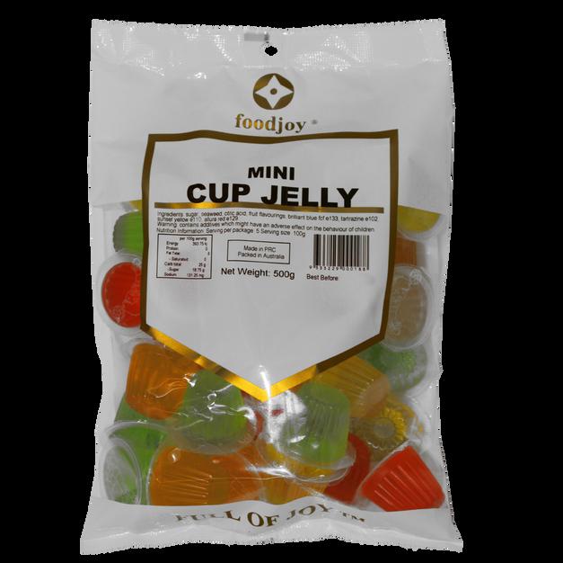 Jelly Cups Mini 500g