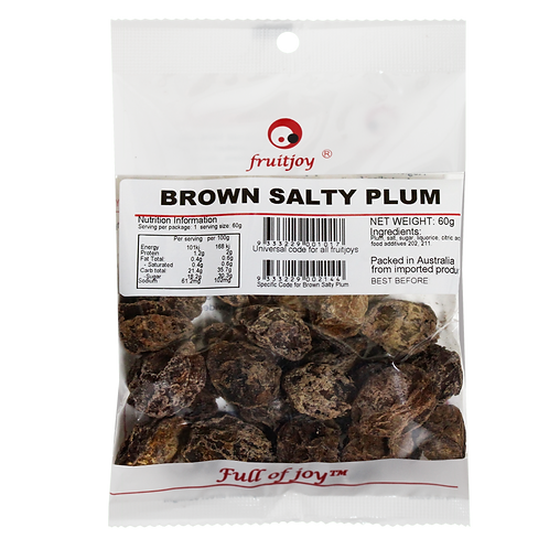 Brown Salty Plum 60g