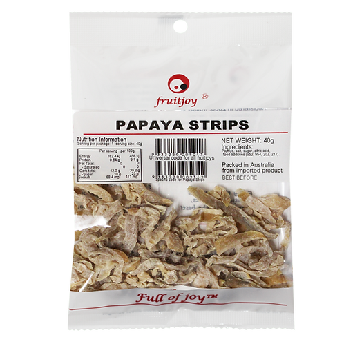 Papaya Strips 40g