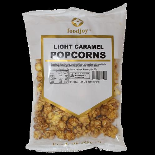 Popcorn Light Caramel 100g