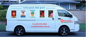 Wide Distribution Van