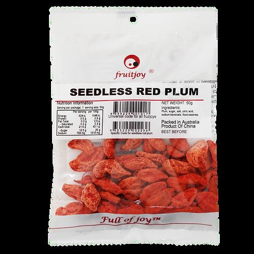 Seedless Red Plum 50g