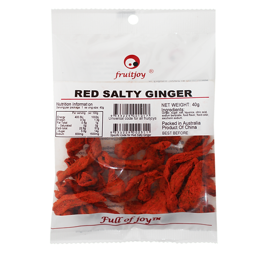 Red Salty Ginger 40g