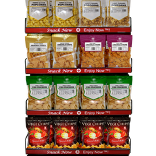 Jerky & Snacks Display Package