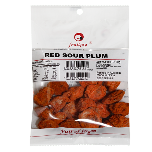 Red Sour Plum 60g