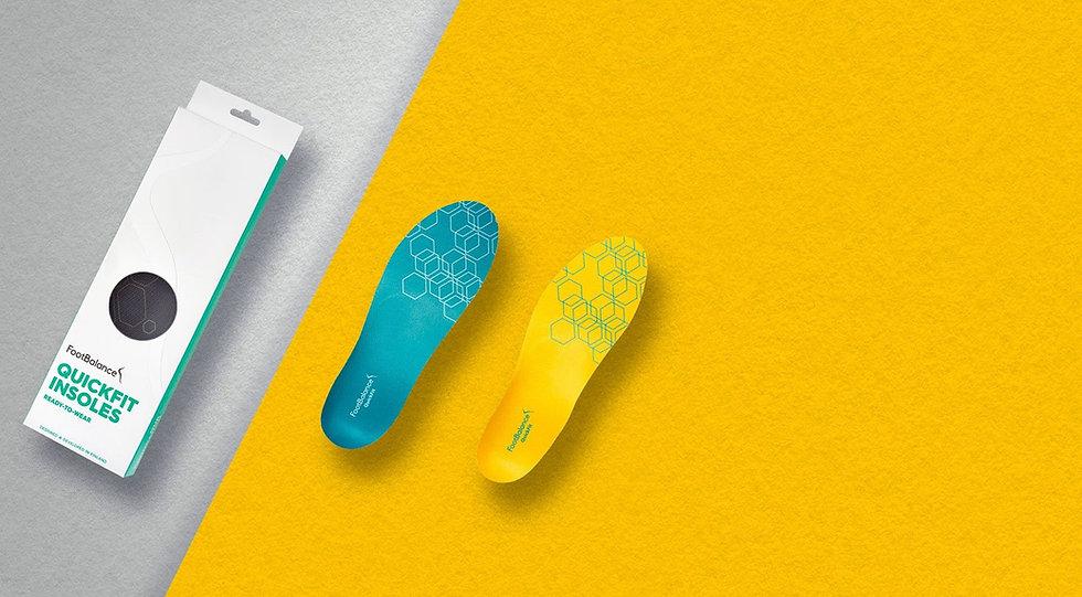 FootBalance Custom Insoles for foot pain