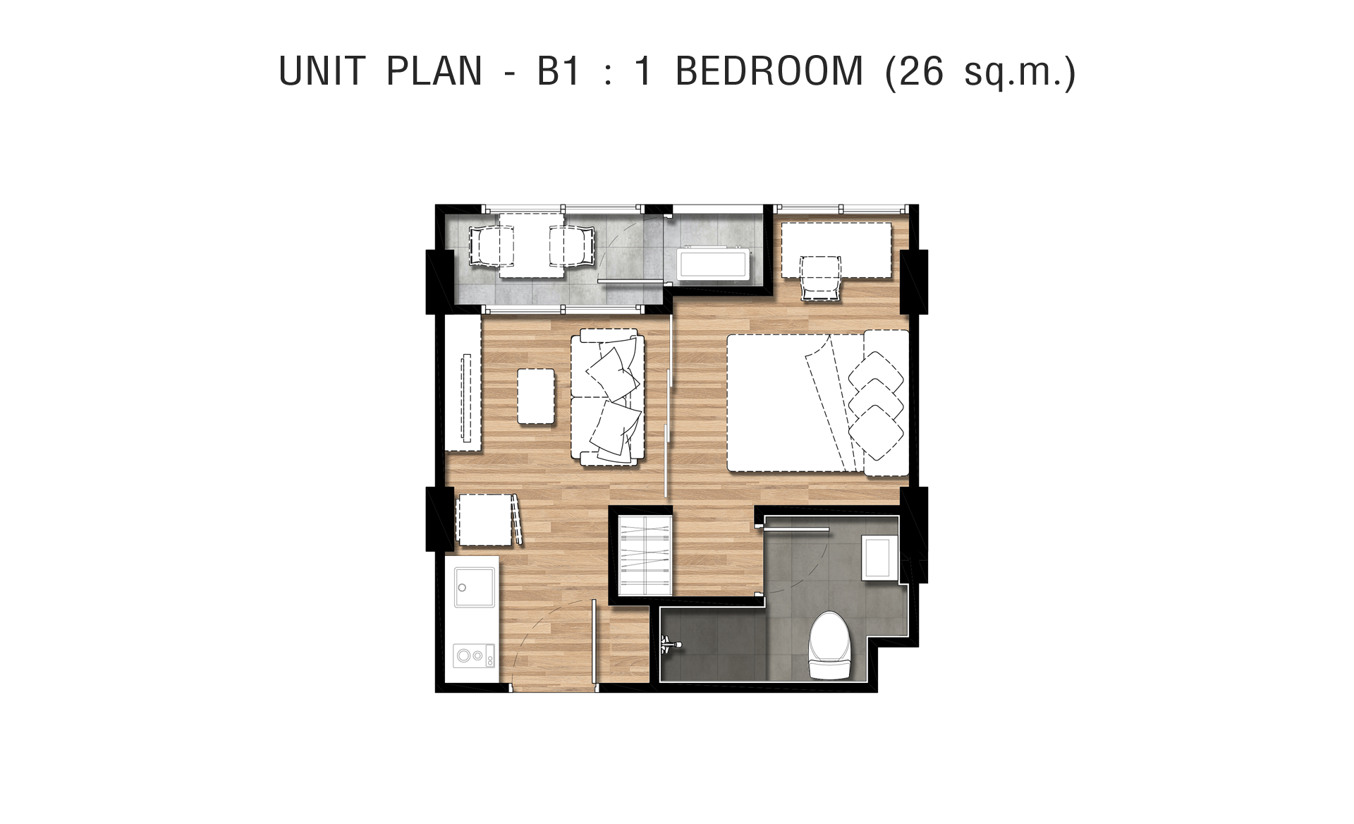 UNIT PLAN - TYPE B1