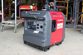 Honda EU3000iS Portable Inverter Generator, 3000 W Four Star Tool Rental