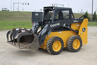 John Deere 312GR Skid Steer Four Star Tool Rental