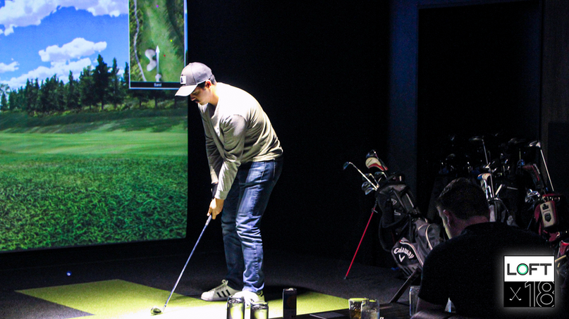 Loft18 Houston Indoor Golf
