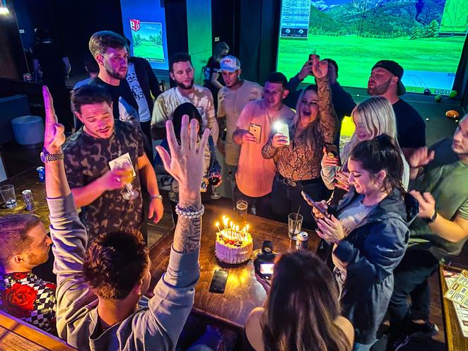 Birthday Party Loft18 Metairie