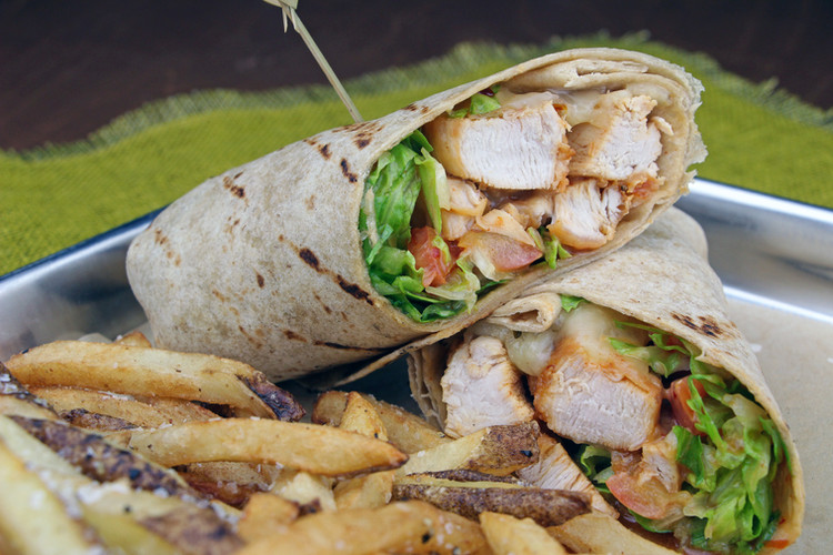 Sweet Heat Chicken Wrap