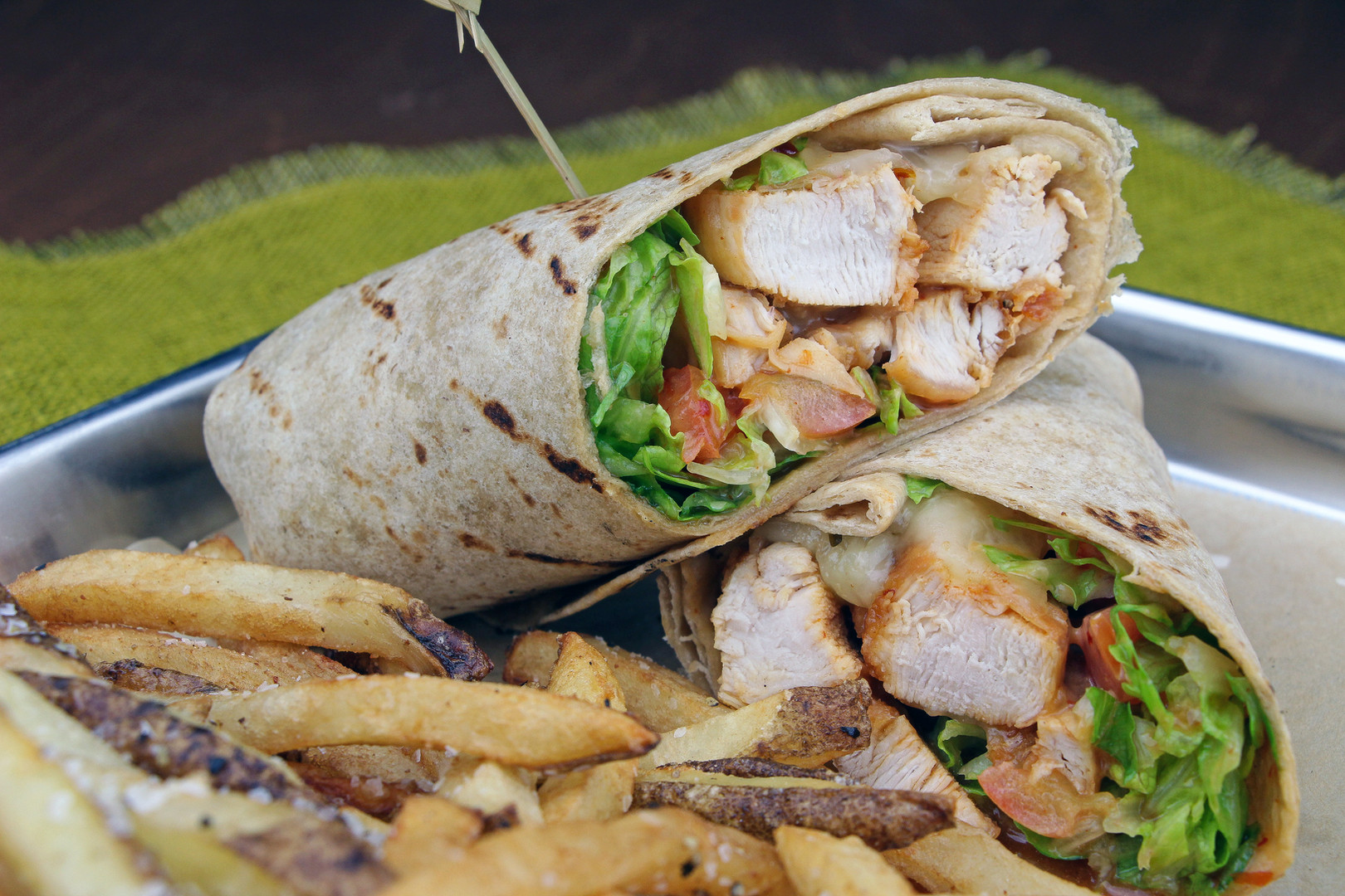 Sweet Heat Chicken Wrap