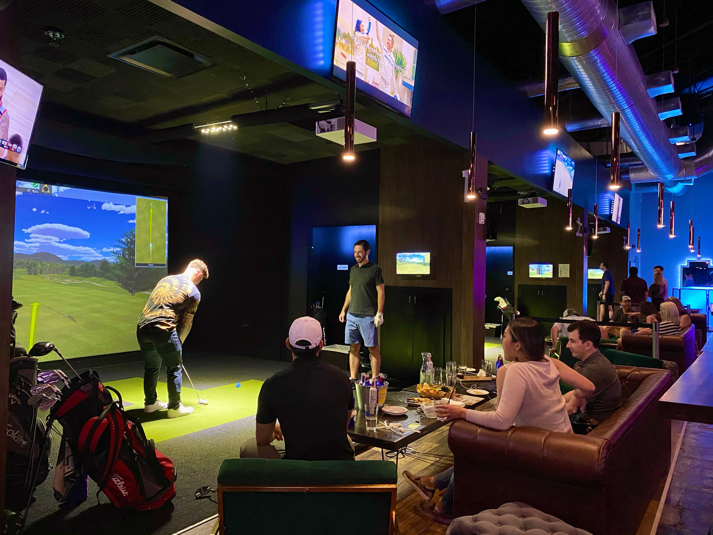 Loft18 Houston Golf Simulators