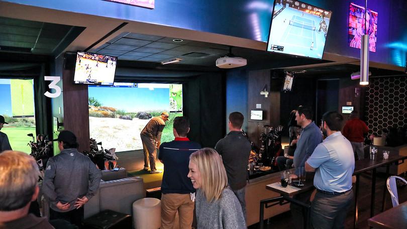 Loft18 Metairie Golf Simulation