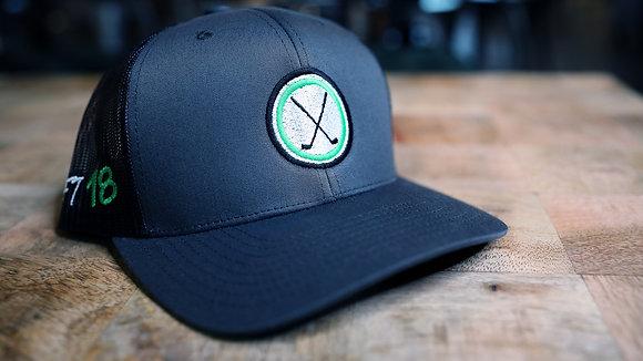 Loft18 Graphite Grey/Black Hat
