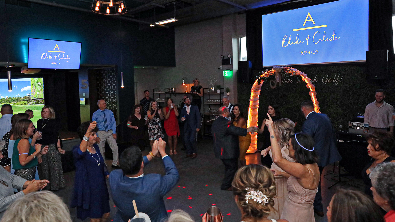 Loft18 Wedding