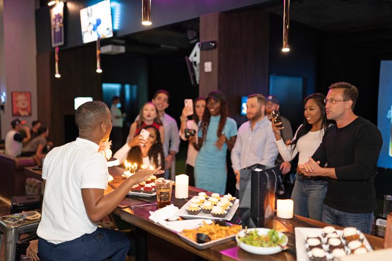 Loft18 Houston Birthday party