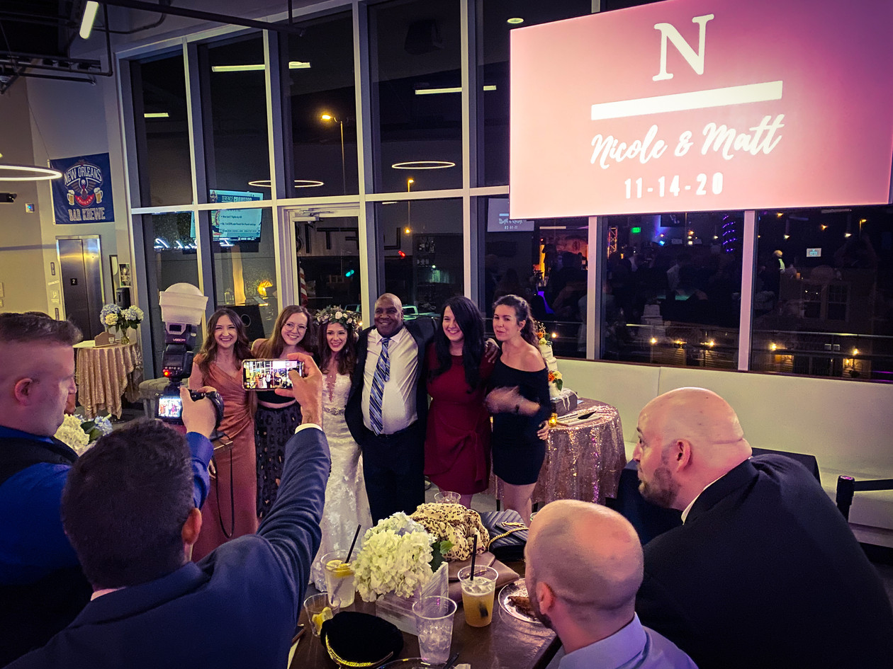 Loft18 Metairie Wedding