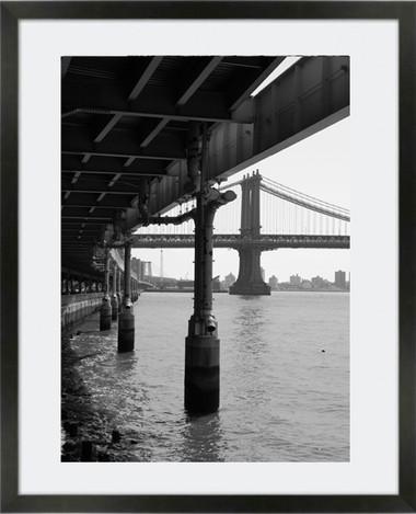 Below Manhattan Brdige New York