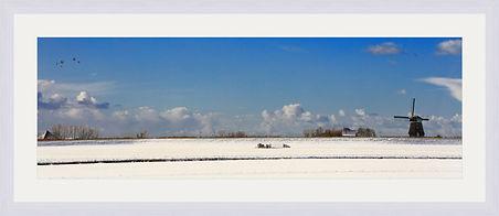 Dutch snowlandscape