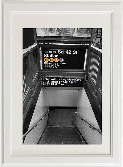 subway entrance ny