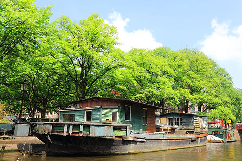 Oldest Houseboat Amsterdam