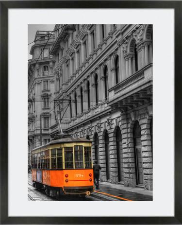 Tram in Milan