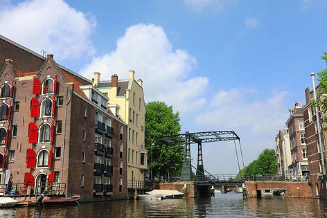 Rapenburgwal Peperbrug Amsterdam