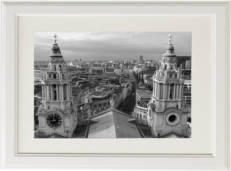London City seen from St.Paul's Cathedral