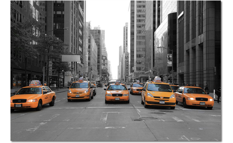 taxi's 5th avenue new york