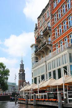 Hotel de l'europe en Munt toren