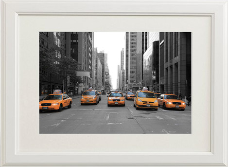 Taxi on 5th Avenue New York