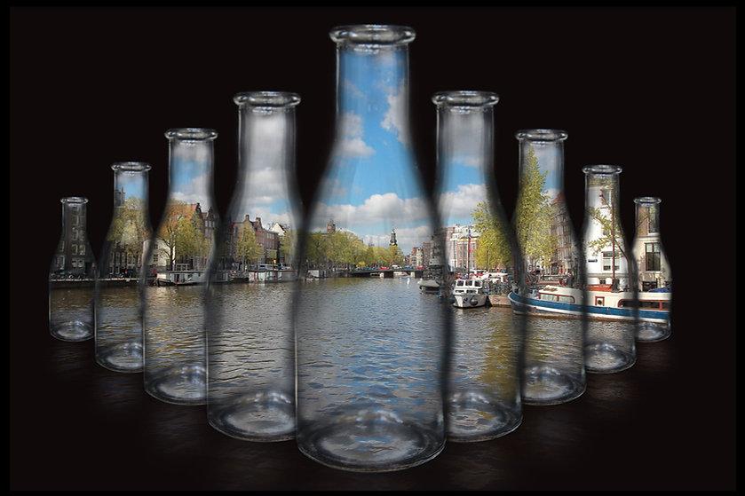 Amsterdam Amstel in bottles