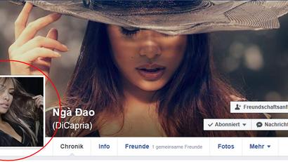Toll - Ngà's neues Profilbild auf facebook stammt aus unserem gemeinsamen Shooting!