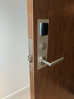 Electronic lock installation Brisbane.jpg