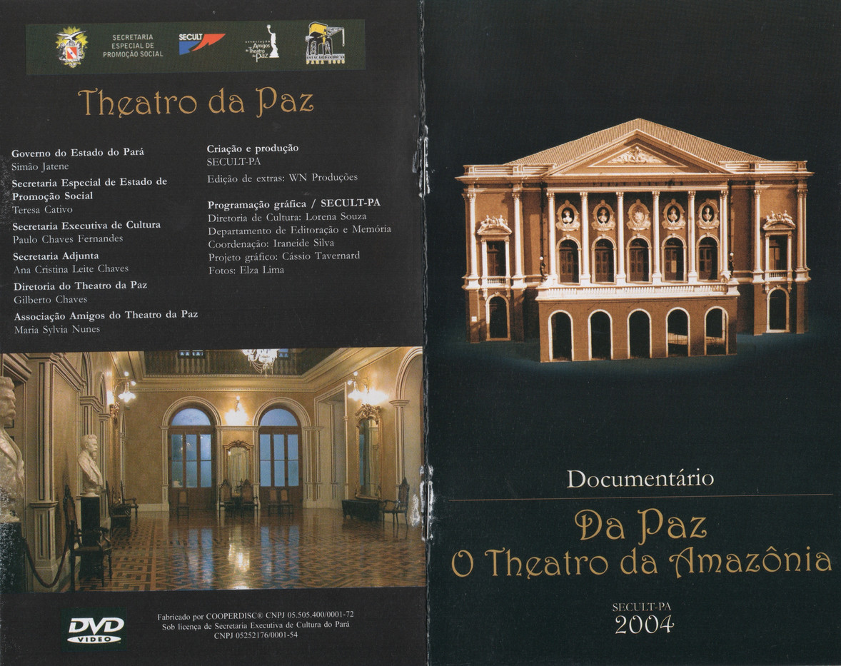 2004. documentário. Da paz. O theatro da