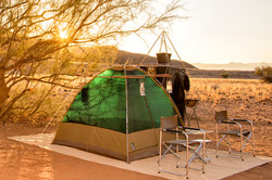 Bivouac in the Huab Valley (Damaraland)