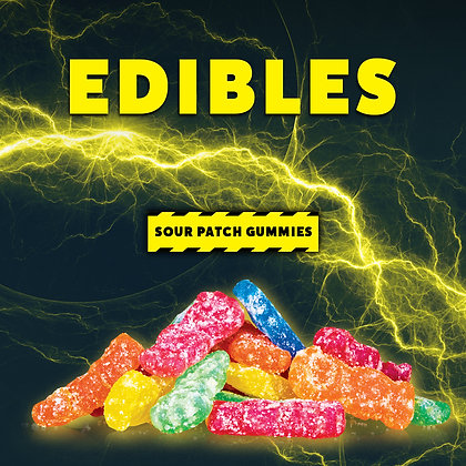 High Voltage Sour Patch Gummies