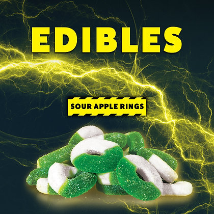 High Voltage Sour Apple Rings
