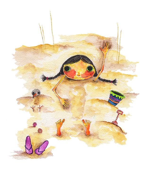 Summer Sand Pile