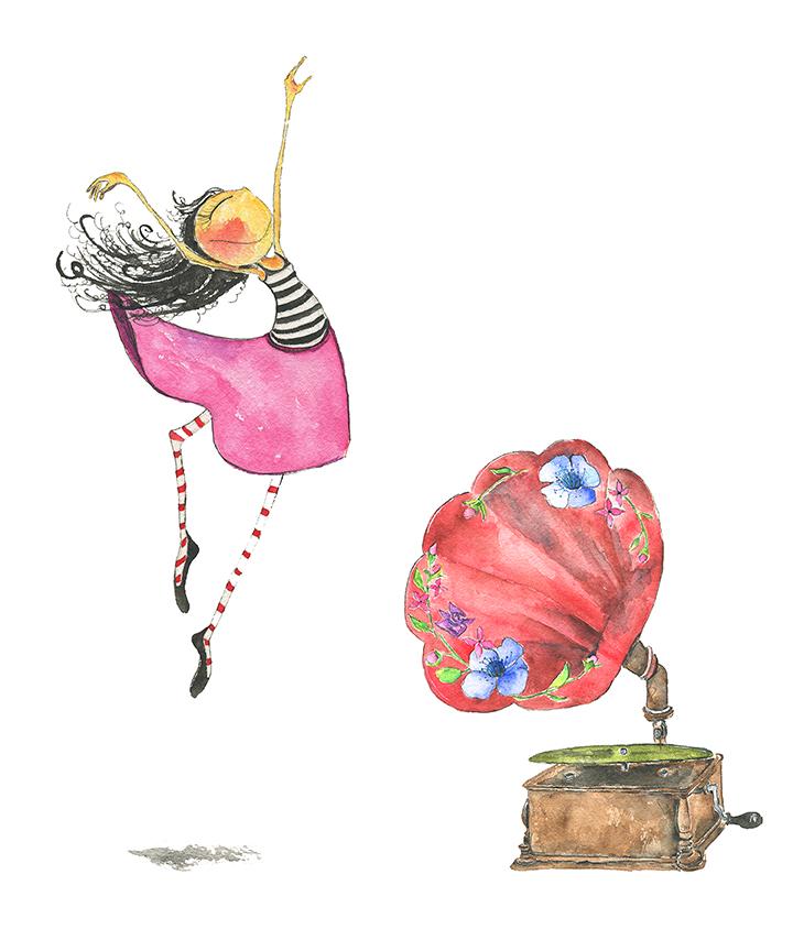 Phonograph Dancer