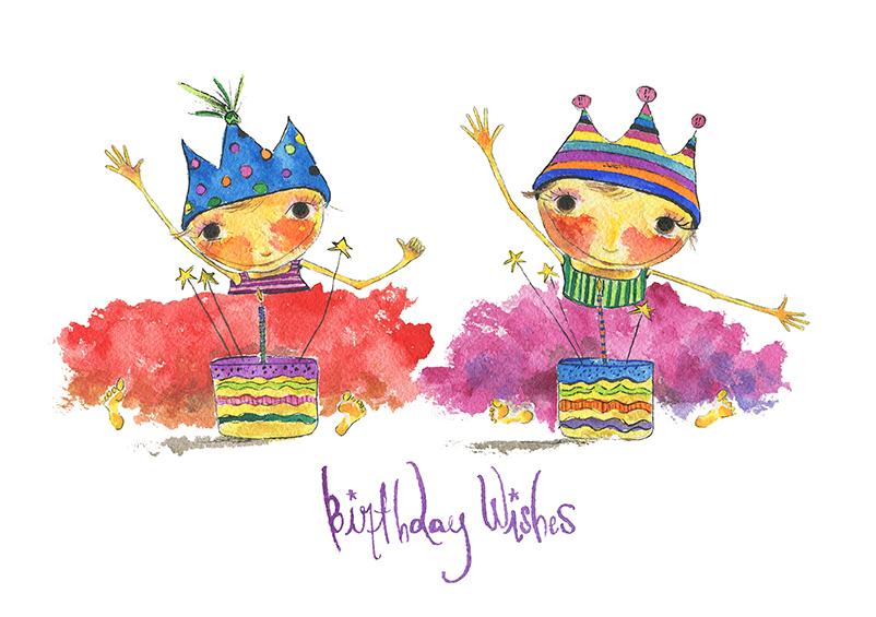 Twins Birthday Wishes