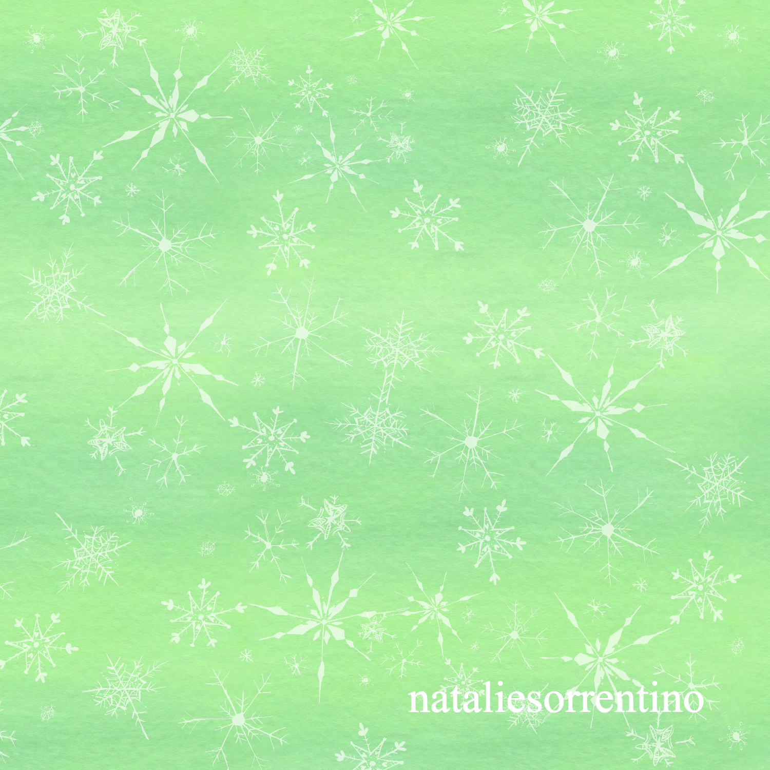 NS Snowflakes Green_edited
