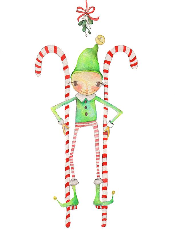 Elf on Stilts